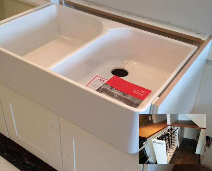 farmhouse sink to fit ikea cabinet. Black Bedroom Furniture Sets. Home Design Ideas