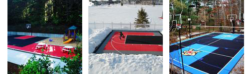 Edmonton Custom Home Addition Building A Sport Court