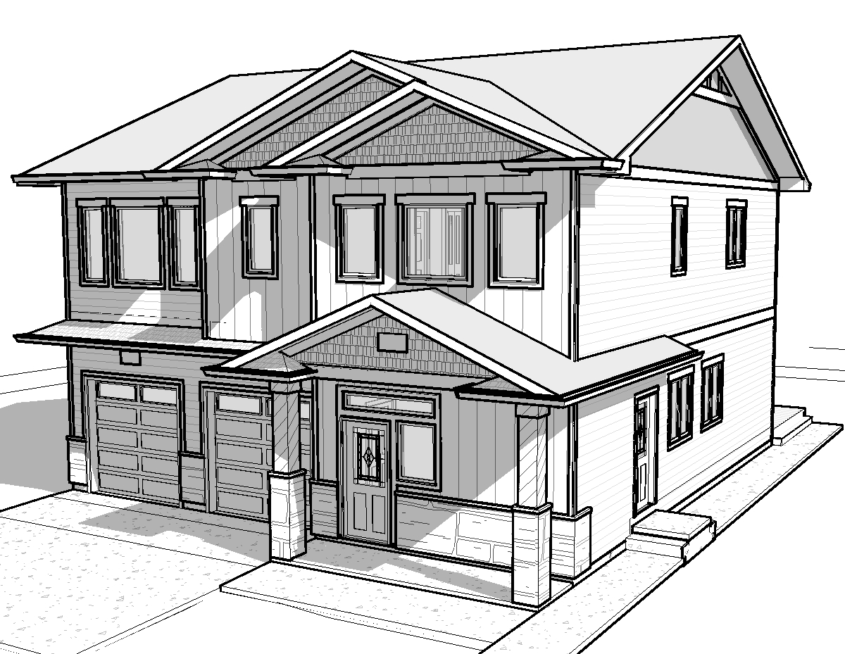 How to get construction financing alair homes barrie 3d house drawing